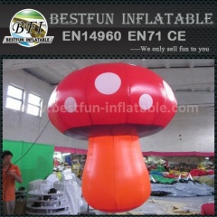 Inflatable mushroom for decoration