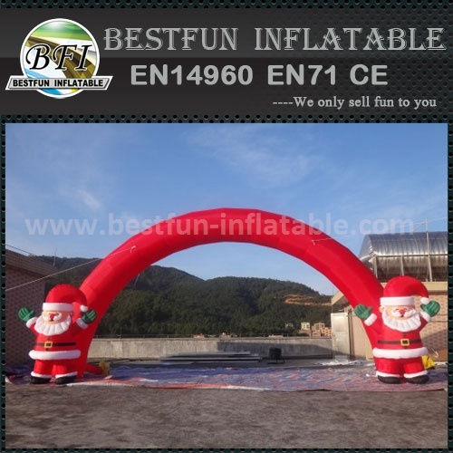 Inflatable christmas santa arch with best price