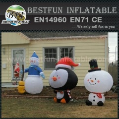 Inflatable Christmas Snowman Model