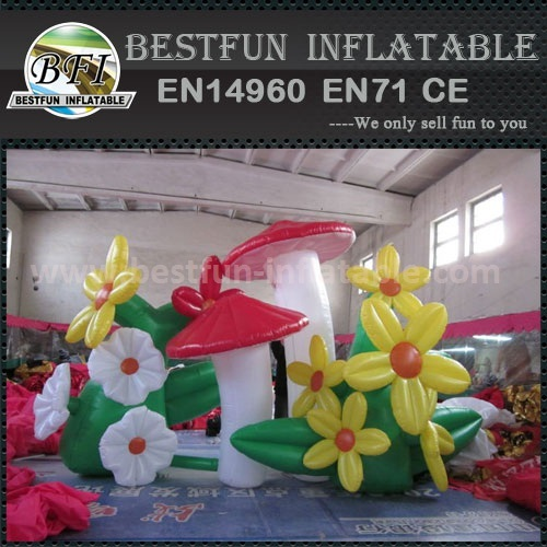 Inflatable flower chain Candy