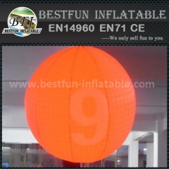 Inflatable LED hanging balloon