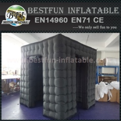 Open air inflatable photo booth