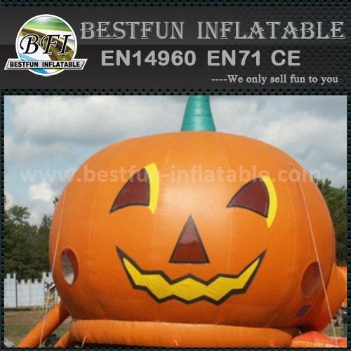 Giant halloween pumpkin inflatable