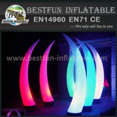 Led Light Inflatable Tusk
