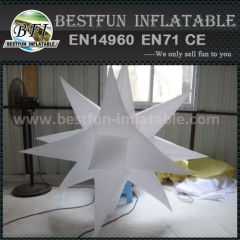 Super market decorative inflatable star with Led light