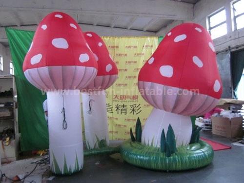 Amusement inflatable mushroom party envent