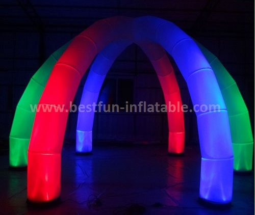 Decorative Lighting Inflatable LED Arch