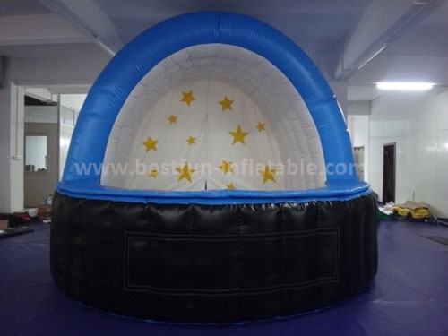 Inflatable tent event bar tent