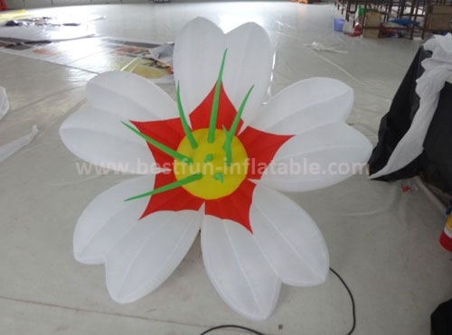 Led inflatable flower wedding party decoration