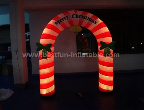 New product LED decoration arch inflatable