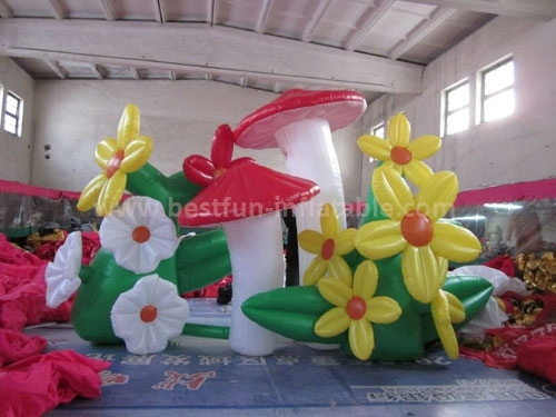 Party inflatables flower wedding decoration