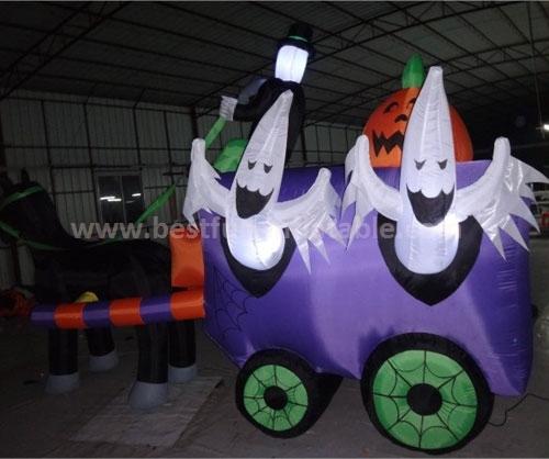 Giant halloween inflatable cartoon characters