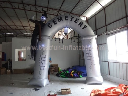 Giant inflatable halloween arch for halloween decoration