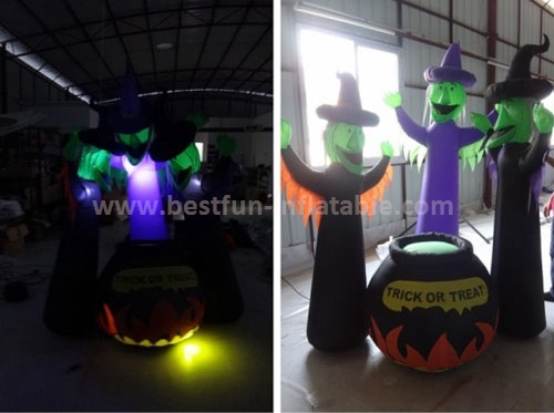 Halloween costume inflatable for adult