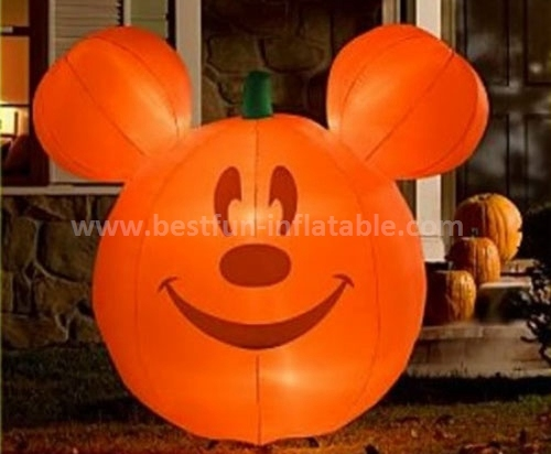 Inflatable christmas mickey with LED light