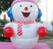 Customized giant inflatable snowman model