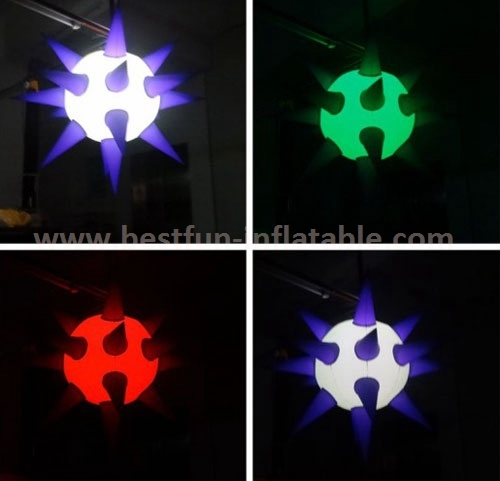 Inflatable star party decoration