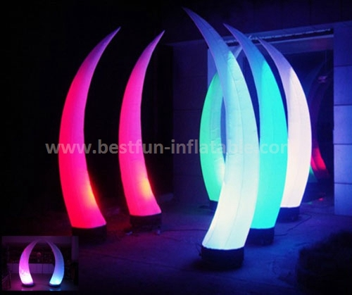 Top design Cone Lighting Inflatable Decoration