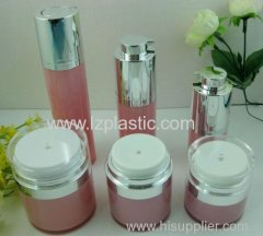 Round Rotary Airless Cosmetic Bottle