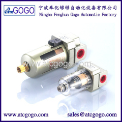 SMC type Air pneumatic filter Aluminum Alloy Manual drain and Auto drain pneumatic components AF2000-02