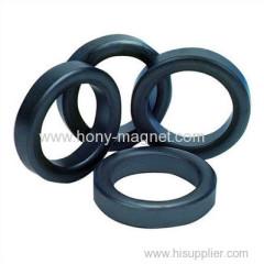 Barium Or Strontium Ferrite Ring Magnet