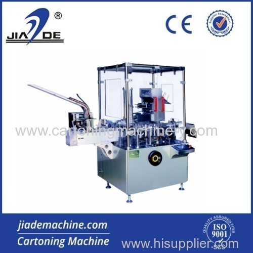 cartoning machine for blister