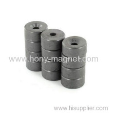 Ring Ferrite Magnet for Small Rotor