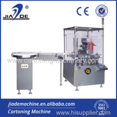 cartoning machine for facial cream