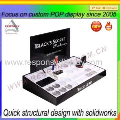 Customized counter acrylic Cosmetic display case