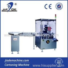 Fully glass bottle cartoning machine