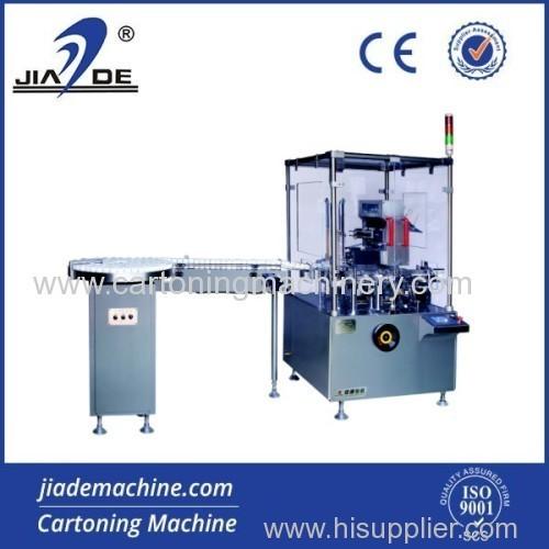Fully glass bottle cartoning machine