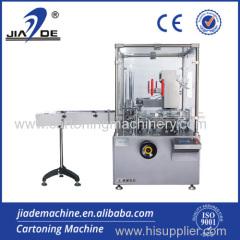Automatique cartonnage Système Machine pour Cosmetic