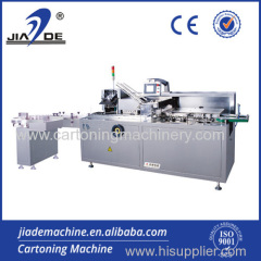 Automatic cartoner machine for bottle
