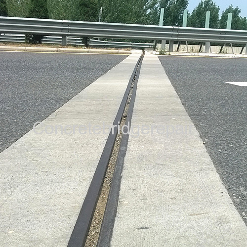 How to repair early age cracking on concrete bridge deck