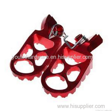 High Quality motorcycle wing style front foot pegs