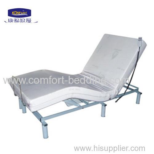 Adjustable Single Bed Base : Single size modern massage adjustable bed base