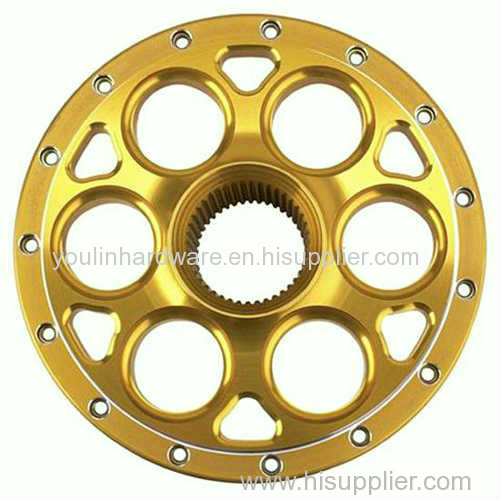 Motorcycle wheel adapter parts