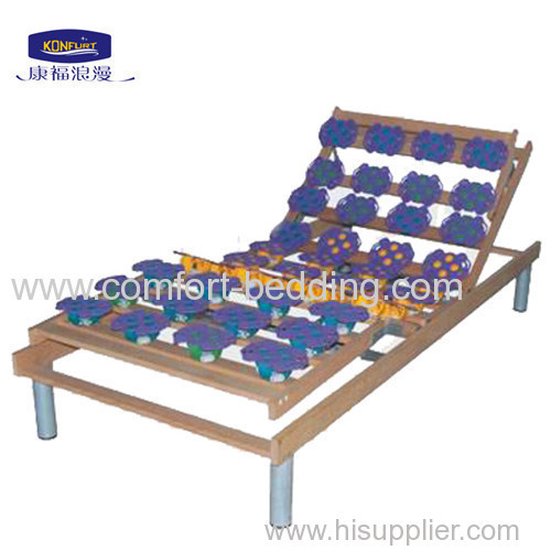 single wooden Electric Adjustable Bed