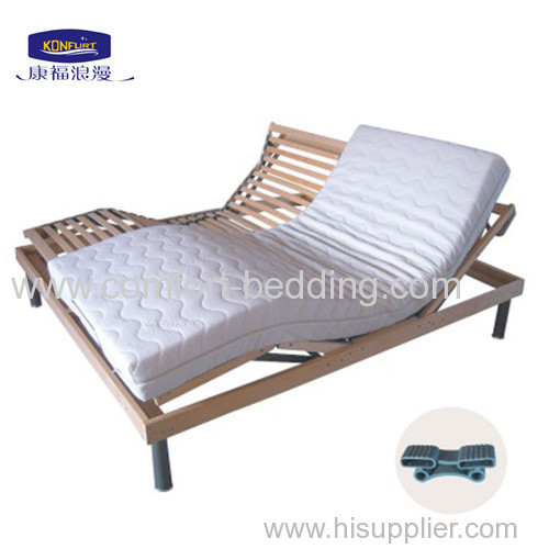 King Size Adjustable Bed with latex mattress
