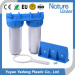 Russain Hot sale Double water filter Clear housings