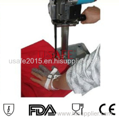Sewing cutting tool cut resistant knife proof stainless steel metal mesh safety glove