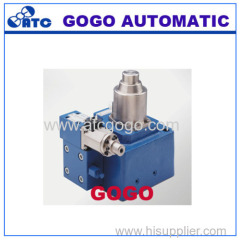 The proportion of electro-hydraulic pressure flow control valve