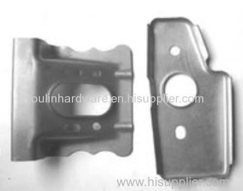 Bending nickel plated customized precision sheet metal stamping parts