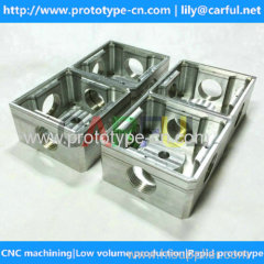 custom made small batch cnc machined precision parts in China