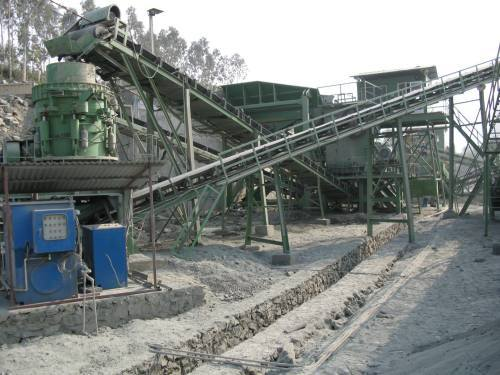 New design big stone crushing plant for sale
