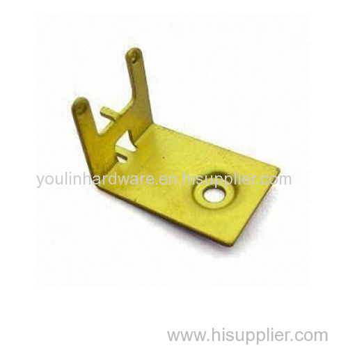 Yellow zinc plated stamping products