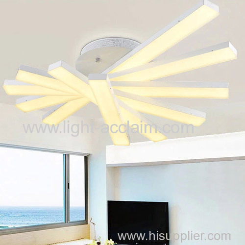 Creative personality art ceiling lamps led ceiling lamp acrylic living room lamps