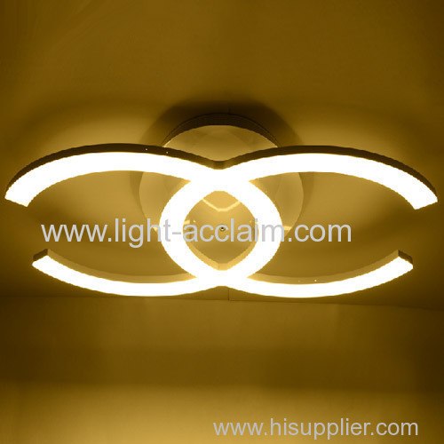 Chanel Acrylic ceiling lamp modern air personality art lamps indoor led lighting