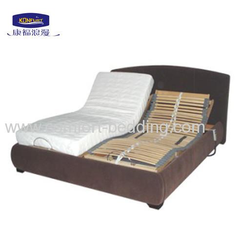Modern Wooden Slat Adjustable Bed Manufacturers And