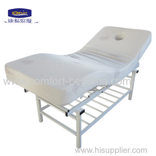 Comfortable electric beauty bed